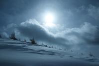 雪山の太陽 - 好きな写真と旅とビールと
