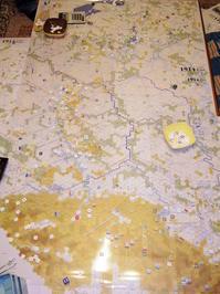 艱難辛苦なんのその...(GMT)1914:Twilight in the East「ロッヅ会戦キャンペーン4人戦その➏」 - YSGA(横浜シミュレーションゲーム協会) 例会報告