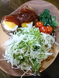 夕飯のスコッチエッグ - 焼き菓子  Maison Hiroko