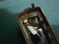 鉄コレ70系の運行番号窓電照その1 工法検証 - 新湘南電鐵 横濱工廠2