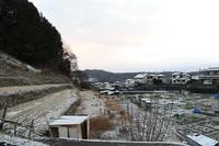 17年冬の自然(13)……うっすら積雪の朝 - ふぉっしるもしてみむとてするなり