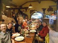 プラハ 21 セミナー参加者と夕餉のひととき - 一景一話