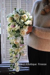 *キャスケードブーケ、花束など* - フラワー&アンティーク Firenze
