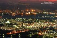 水島工業地帯の夜景① - *花音の調べ*