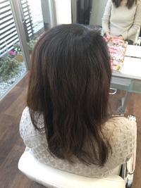 9ヶ月ぶりの縮毛矯正ですっきりストレート!(≧▽≦) - 浜松市浜北区の美容室 SKYSCAPE(スカイスケープ) 店長の鶸田(ひわだ)のブログです