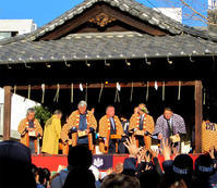 池袋御嶽神社の節分祭 - のんびり街さんぽ