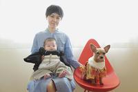 お正月に撮影した家族写真(写真部門) - 家族の風景