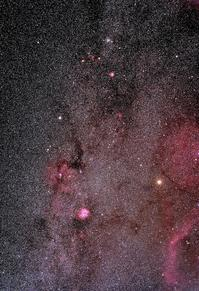 ふたご~いっかくじゅう座の天の川 - 安倍奥の星空