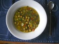 ひよこ豆入りイスラエルベジスープ - Bのページ
