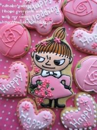 ラブリー*リトルミーのアイシングクッキー (パン・スイーツ部門) - nanako*sweets-cafe♪