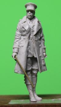 D-Day Miniature Studio 35023 WW1 British Tank Corps Staff Officer - Post-Retirement Modelling Life