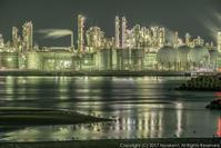 姫路工場夜景 4 - シセンのカナタ