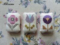 お花の刺繍は - Bloom のんびり日記
