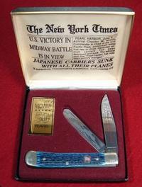 ミッドウェイ海戦50周年記念ナイフ(米国製) - 軍装品・アンティーク・雑貨 パビリオン