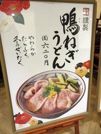 【鴨ネギ背負って】丸亀製麺できつねうどん - お散歩アルバム・・寒中の徒然