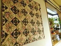 シックなロマンティックキルト - eri-quilt日記2