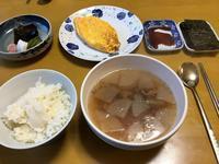 ソゴギクッ(牛肉スープ)な朝餉 - ぶん屋の抽斗