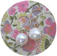 Fresh water pearl earrings - minca's sweet little things