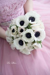 前撮り  カクテルドレス用ブーケ 1 -  La Fleur