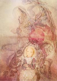 Sulamith Wulfing(スラミス・ヴュルフィング)の天使と子供の絵 - Books