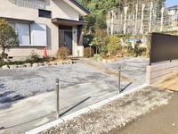 横浜市栄区駐車場工事 - 横浜の外構エクステリア&ガーデニングのヨコハマリード☆