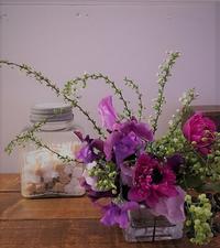 ワークショップ「日常に気軽に花をしつらえる」のご案内 - Groseille グロゼイユ~四季のお庭とぼちぼちお花活動~