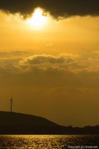 風の通る島の、夕景 - ひつじ雲日記