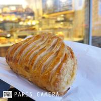 Chausson aux pommes  アップルパイ - Boulangerie Huré - - フランス暮らし6年目からの、忘備録