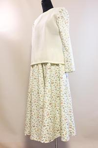 イギリスのプリント サーキュラースカート (1843) - natural essence : EKO PROJECT