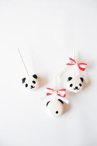 cottaさんバレンタイン特集 ショコラパンダのマカロン! - のんびりのびのび