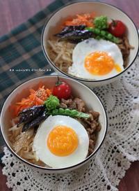 ビビンバ弁(๑¯﹃¯๑)♪ - **  mana's Kitchen **