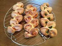 三種のベーコンエピ - カフェ気分なパン教室  ローズのマリ