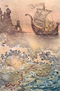 スラミス・ヴュルフィングの「人魚姫」の絵 - Books