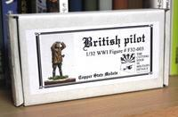 Copper State Models F32-003 1/32 WW1 British Pilot - Post-Retirement Modelling Life