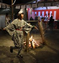 昨夜、湯谷温泉で行われた「花まつり」 - 写写衛門