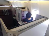 2016年GW バリ島② JAL機内食など - にゃご