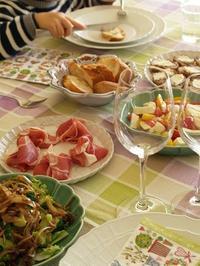 小さなお客さま - シニョーラKAYOのイタリアンな生活
