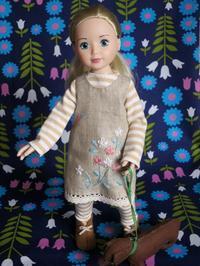 バレリーナのジョリーナちゃん人形 -  Der Liebling ~蚤の市フリークの雑貨手帖2冊目~