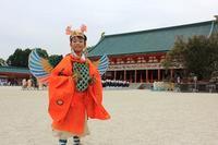 時代祭、小4の息子が迦陵頻伽(かりょうびんが)で参加 - KOTOコレ2016