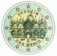 サン・マルコ大聖堂が2ユーロ硬貨に! - ヴェネツィア ときどき イタリア・2