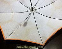 半年ぶりの更新になりました☆ - 傘に埋もれる日々 -京都1903年からの洋傘制作の現場より-