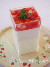 苺マスカルポーネムース。・* - Heartful Sweets