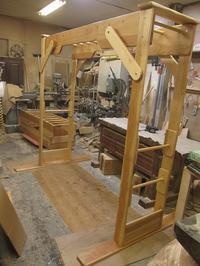 うんていNタイプW2130×H2000×D1340 可動式登り棒3本 - MAGINU STYLE by Art Furniture Gallery