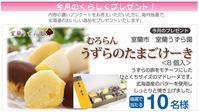 北海道のくらしアンケート くらしく 2月のプレゼント - omisenet : 街の販促屋さん