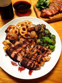 鴨のロースト、牛肉の赤ワイン煮込み、牡蠣のグラタン - エリンゲル日記