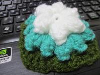 パプコーン編み - 畑へ行こう♪