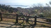 今年、初ライド in 志賀島 - あー、ひざ痛い