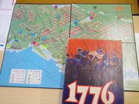 YSGA 二月例会の様子その2〔(AH)1776 Unofficial第三版ルールにて:その①〕 - YSGA(横浜シミュレーションゲーム協会) 例会報告