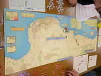 YSGA 二月例会の様子その5〔(Tern/CMJ)The Legend Begins「クルセイダー作戦」シナリオ〕 - YSGA(横浜シミュレーションゲーム協会) 例会報告