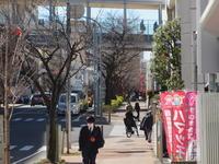 スナップ    駅前にて  - エンジェルの画日記・音楽の散歩道